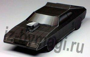 Машинки из бумаги — Ford Falcon Coupe