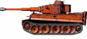 Танк «Тигр» из бумаги